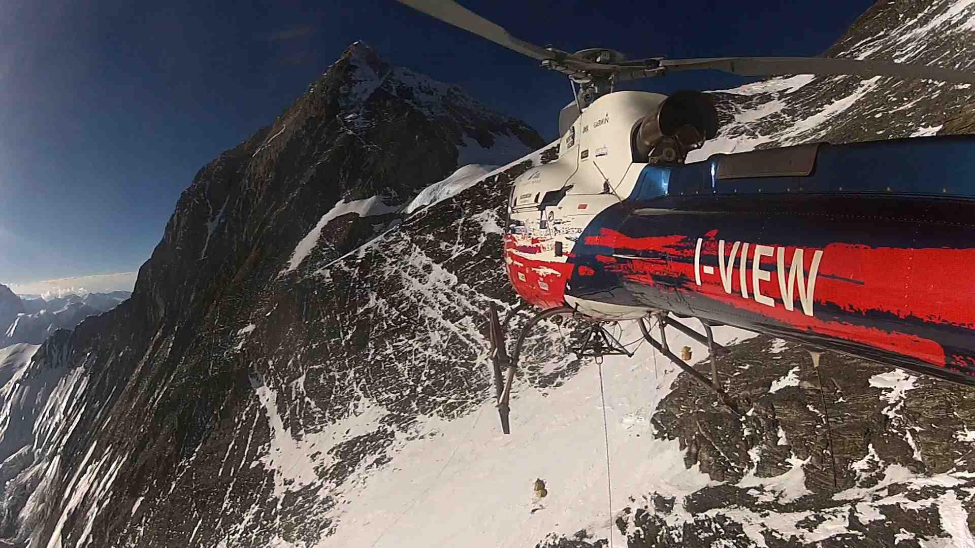 Moro e Folini elisoccorso Everest
