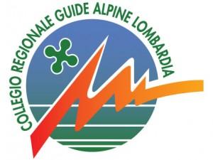 logo delle guide alpine lombardia