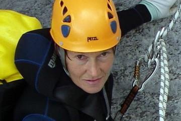 viso di guida alpina renata rossi