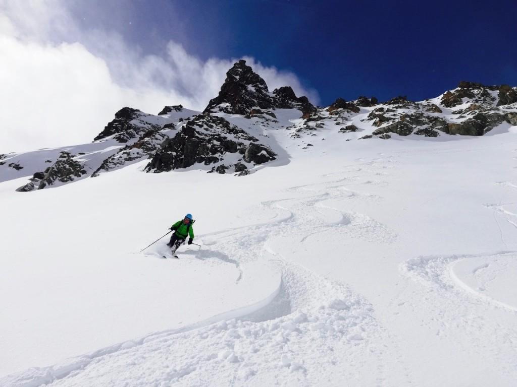 sciatore scialpinismo